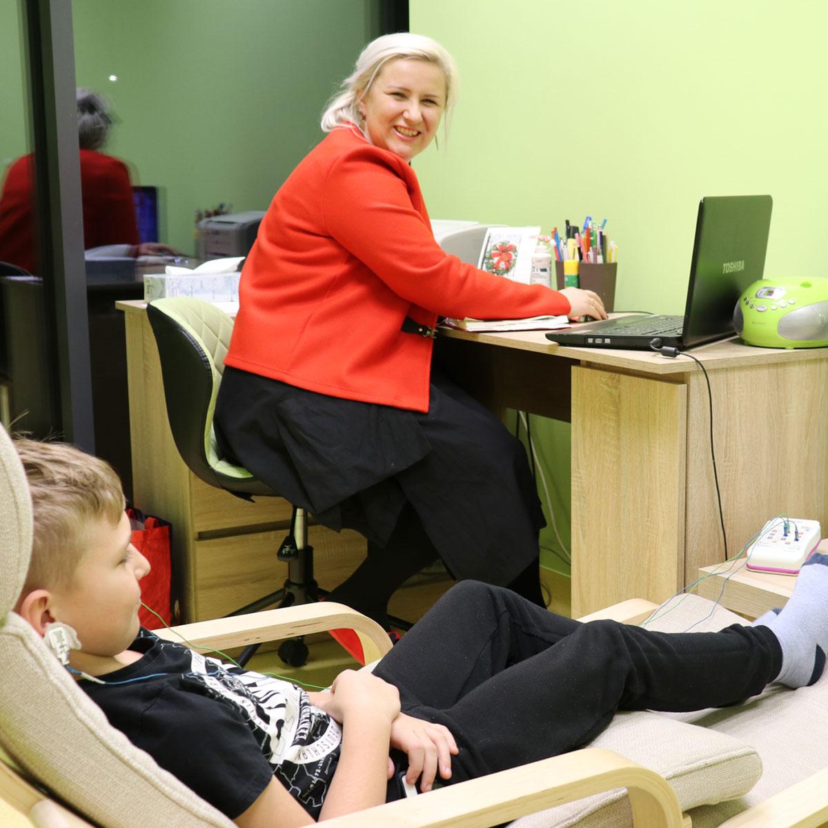 Centrum Terapii Dziecka i Rodziny - EEG Biofeedback